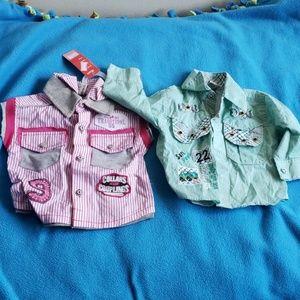 Shirts & Tops - Baby boy shirts ( 1 pair)